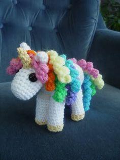 Unicorn crochet pattern  You gotta get your Grandmother to teach you to crochet!