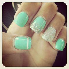 Tiffany & co. Nails !!! ❤❤❤