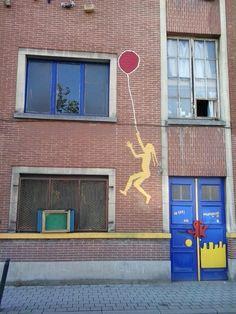 street art, Bruxelles
