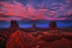 Twilight Time ~ Monument Valley