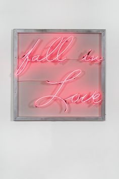 Fall in Love - neon by Lisa Schulte