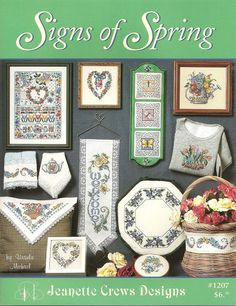 Signs of Spring booklet