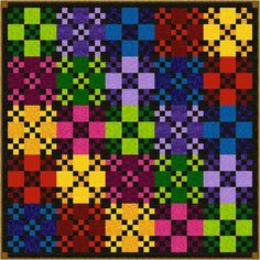 Quilt Addicts CHINESE CHECKERS Precut Quilt by quiltingaddiction, $154.25