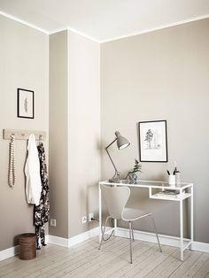 Serene studio | photos by Jonas Berg for Stadshem Follow Gravity Home: Blog - Instagram - Pinterest - Facebook - Shop