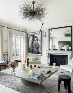 Апартаменты в Париже для ценителей искусства (дизайн Emma Donnersberg)