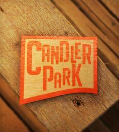 Candler Park Wood Magnet
