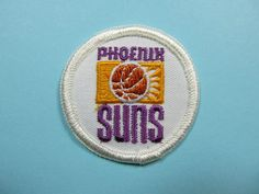 "RARE Vintage NBA Phoenix Suns 2"" Iron on Patch National Basketball Association | eBay $3.97"