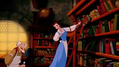 "Beauty and the Beast - ""But it's my favorite! Far-off places, daring swordfights, magic spells, a prince in disguise!"""