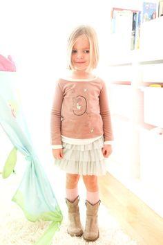 moda infantil nanos tul dressing ivana Pistas de Moda Infantil... Tul  girl 56a24a514fb