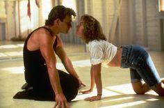 Dirty Dancing - I simply say, baaaaby.  Ohhhhhhh baaaaby. My sweet baaaby, you're the one.