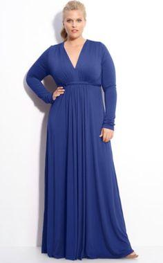 Plus Size Maxi With Sleeves | Rachel Pally Plus Size Long Sleeve Maxi Dress - High End Plus Size