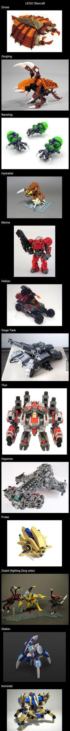 LEGO Starcraft Wishlist