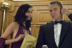 Eva Green and Daniel Craig (Casino Royale - 2006) I just love this movie !