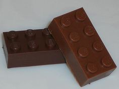 Chocolate Lego Bricks. You can build up the flavor :-)