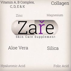 """#ZařeBeauty skin care supplement: what's in it? 