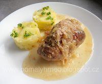 Pomalý hrnec: Záhorácký závitek v pomalém hrnci Baked Potato, Crock Pot, Ph, Slow Cooker, Chicken, Meat, Baking, Ethnic Recipes, Food