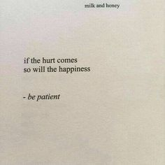 If the hurt comes so will the happiness. via (https://ift.tt/2MLDqLW)
