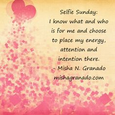 #Selfie #Sunday: Friendship is not the opposite of being enemies. Just because you do not have any annomosity towards someone (or they towards you) that does not mean this individual deserves access to your life or inner circle. -Misha N Granado