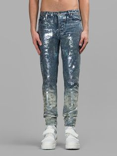 HOOD BY AIR OIL SPILL JEAN