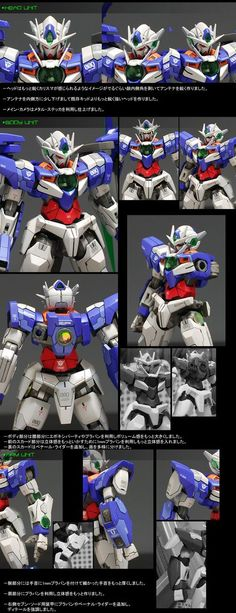HG 1/144 00 Qan[T] Full Saber  Modeled by ghost      CLICK HERE TO VIEW FULL POST...
