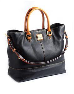 DOONEY & BOURKE Dillen Chelsea Leather Shopper Tote Bag