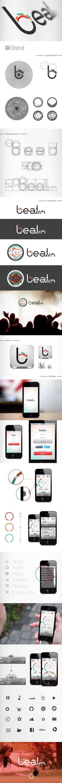 Beat.fm by Fábio Pereira, via Behance Beat.fm can be baught at: https://itunes.apple.com/br/app/beat.fm-your-exercise-radio/id622580051?l=en=8