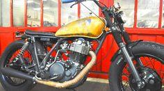 ϟ Hell Kustom ϟ: Yamaha SR500 Blitz Motorcycles
