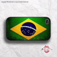 World Cup Brazil flag - iPhone 4 Case, iPhone 4s Case and iPhone 5/5S/5C case