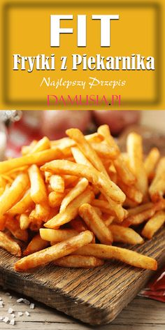 Fries In The Oven, Fries Oven, Cooking Recipes, Healthy Recipes, Clean Eating, Food And Drink, Lunch, Dinner, Vegetables