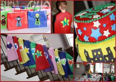super hero birthday party   SUPER Superhero Birthday Party