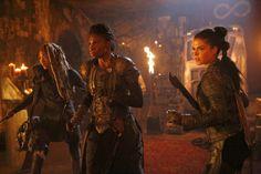 The 100 | 4x02 - Four Horsemen | Octavia,Indra & Gaia |