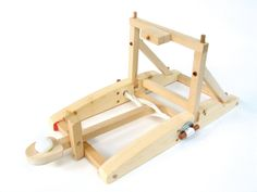 Amazon.com: Pathfinders Medieval Catapult Wooden Kit: Toys & Games