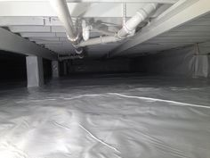 After Crawl Space Vapor Barrier Crawl Space Vapor Barrier, Crawl Space Encapsulation, Ranch, Guest Ranch