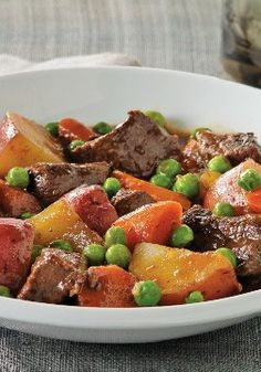 Slow-Cooker BBQ Beef Stew -- Wanna know the secret to the mellow flavor of our Slow Cooker BBQ Beef Stew? See the recipe or the video--all will be revealed.