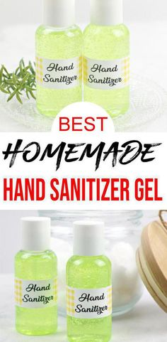 DIY hand sanitizer gel that is super easy to make. Learn how to make hand sanitizers gel at home. Great smelling DIY hand gel not spray that is quick… Antibacterial Gel, Diy Sanitisers, Easy Diy, Dyi, Diy Crafts, Juniper Essential Oil, Diy With Essential Oils, Alcohol En Gel, Survival