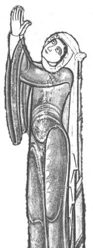 St. Anne: Bury Bible 1130; article on late 11th and early 12th century female garb