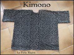 La Porta Magica - Ve a la moda cosiendo tu propia ropa. Blog de costura facil.: Kimono de Verano, DIY.