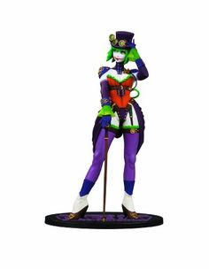 DC Direct Ame-Comi Heroine Series: Duela Dent as The Joker PVC Figure