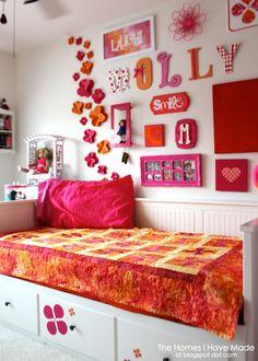 Tween Bedroom Makeover! Ideas for your Tween - www.yousimplybetter.com. #communication #parenting #tween