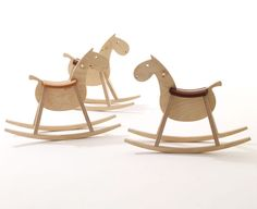 rocking horse MUSTANG by sixay furniture - premium solid wood design furniture