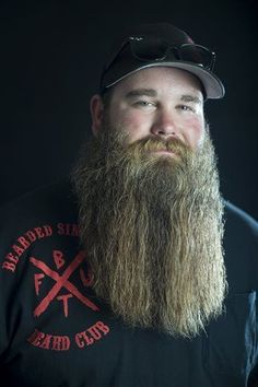 Bearded dudes set out to help Wyoming community