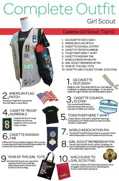 Girl Scouts of Nassau County: The Complete Outfit Series: Cadette Girl Scout