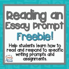 Ftce english 6-12 essay prompts