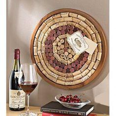 circular cork board