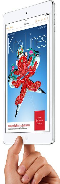 Apple - iPad Air - การออกแบบ
