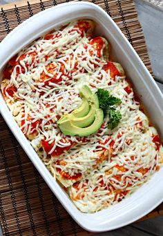 Enchiladas made with Egg Whites? Yes Please!