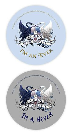 Ever and Never buttons -- perfect for anyone in the #EverNeverArmy.