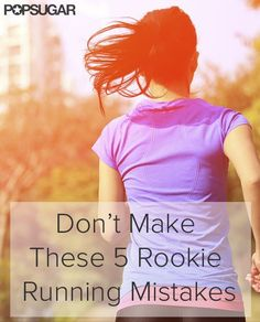 Don't Make These 5 Rookie Running Mistakes. Before you start dreading your jogging sessions, make sure you don't make these mistakes. Running Routine, Running Workouts, Running Tips, Running Club, Running Watch, Fitness Tips, Fitness Motivation, Health Fitness, Rogue Fitness