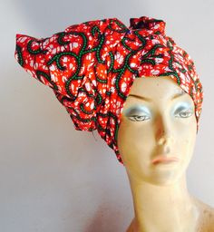 SALE: African print headwrap by AdinkraExpo on Etsy ankara , waxprint