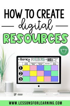 How to Create Digital Resources for Teachers Pay Teachers